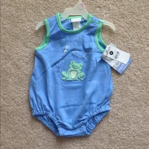 NWT Baby frog one piece